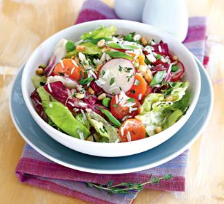Рецепт Салат из риса басмати с летними овощами