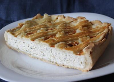 Рецепт Куриный пирог с решеткой
