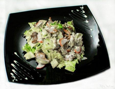 Салат с мясом «Белград»