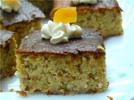 Рецепт Апельсиново-миндальные пирожные