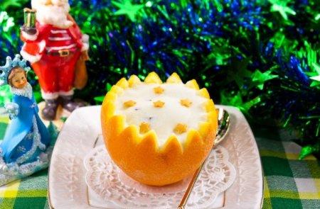 Рецепт Десерт с мроженом «Новогодняя сказка»
