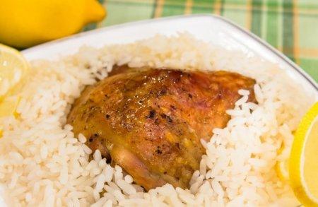 Рецепт Бедрышки, маринованные в лимонном соке, запеченные в рукаве