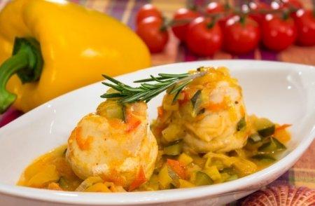 Рецепт Рыба, тушенная в овощах