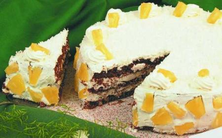Рецепт Ананасовый торт «Очарование»