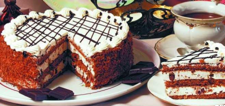 Рецепт Шоколадный торт «Ночная фея»