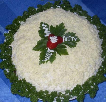 Салат с печенью Ноченька