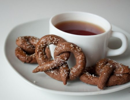 Рецепт Шоколадные крендельки