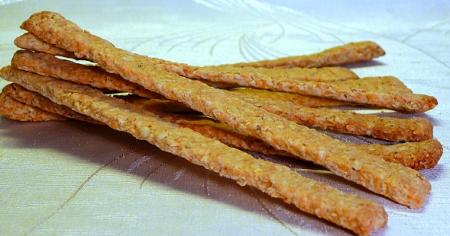 Рецепт Овсяные палочки с сыром