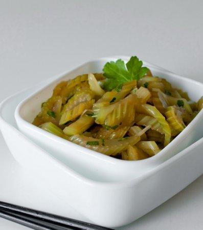 Рецепт Китайский салат из сельдерея