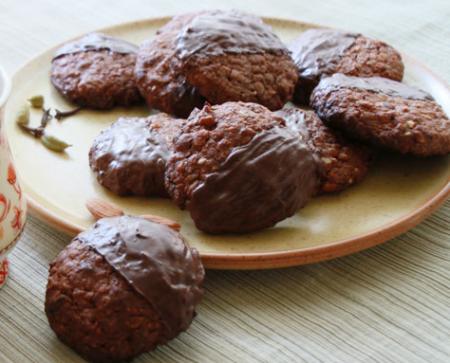 Рецепт Шоколадные пряники с цукатами