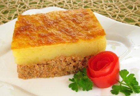 Рецепт Запеканка с фаршем и картофелем