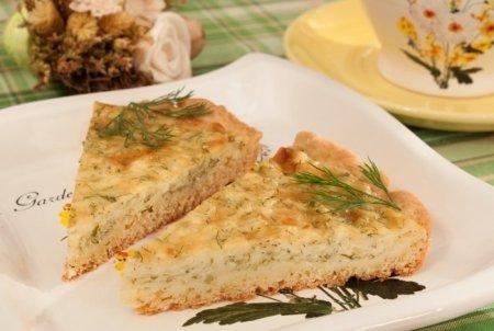 Рецепт Пирог с сыром и творогом