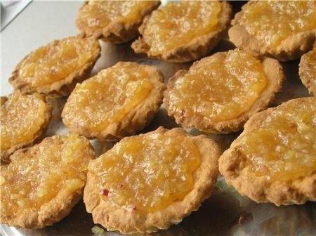 Рецепт Тарталетки с лимонным конфитюром