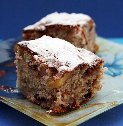 Рецепт Яблочный пирог с красным вином