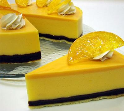 Лимонное пирожное (торт)