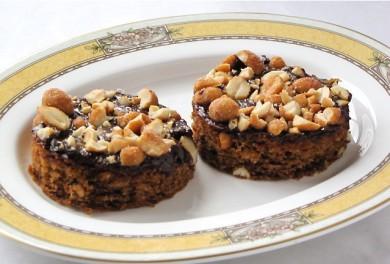 Рецепт Пирожные с арахисовым маслом и медом