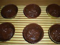 Рецепт Шоколадные корзинки с клубникой и сливками
