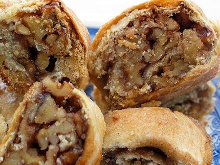 Рецепт Штрудель с орехами