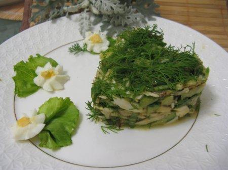 Рецепт Осенний салат из топинамбура с заправкой из горчичного масла