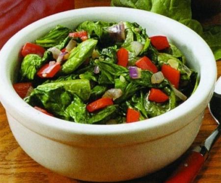 Рецепт Диетический салат с крабовыми палочками
