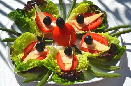 Рецепт Салат-сендвич