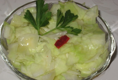 Рецепт Капустный салат по-восточному