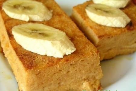 Рецепт Творожно-банановая запеканка