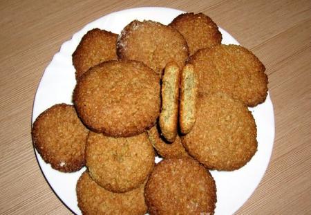 Рецепт Европейское печенье с семечками