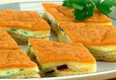 Рецепт Пирог яичный