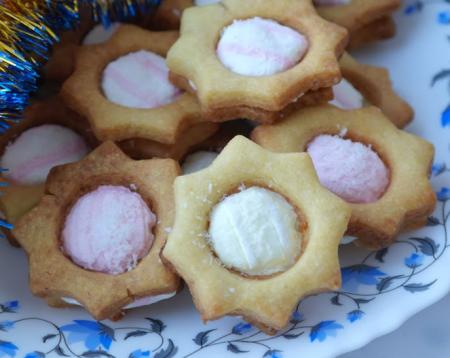 Рецепт Рисовое печенье с маршмеллоу
