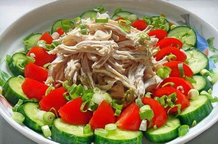 Рецепт Японский салат с курицей