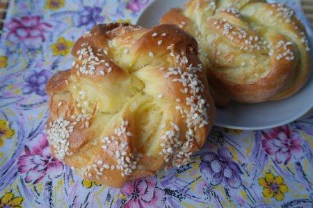 Рецепт Турецкие булочки с сезамом