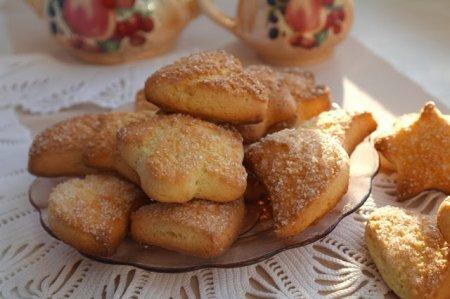 Рецепт Печенье домашнее рассыпчатое