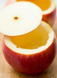 Рецепт Запеченные яблоки, фаршированные овсянкой и финиками