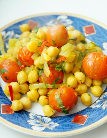 Рецепт Овощное карри с нутом