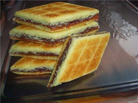 Рецепт Брадж- алжирское печенье с финиками на сковороде