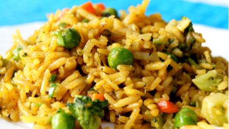 Рецепт Рис с овощами по-арабски