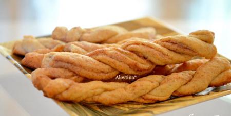 Рецепт Печенье палочки с корицей