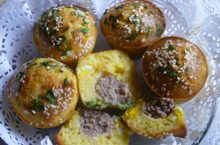 Рецепт Мясные булочки