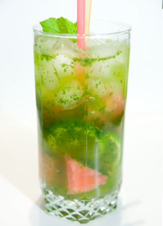 Рецепт Безалкогольный арбузный мохито