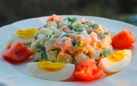 "Рецепт Салат ""Маседуан"", т.е. ""македонский салат"""