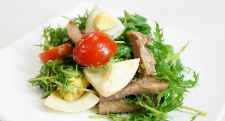 Рецепт Китайский салат из свиного языка