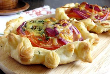 Рецепт Форель с овощами в тесте