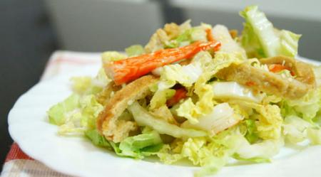 Салат из пекинской капусты по-тайски