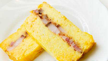 Рецепт Картофельный террин с копченой грудинкой