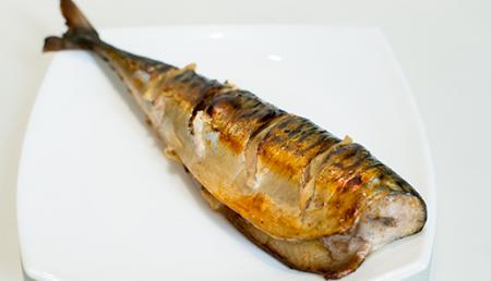 Рецепт Скумбрия гриль с имбирем в духовке