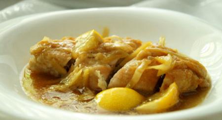 Рецепт Запеченое куриное филе под имбирным соусом