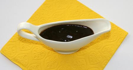 Рецепт Шоколадный соус на молоке высокой жирности