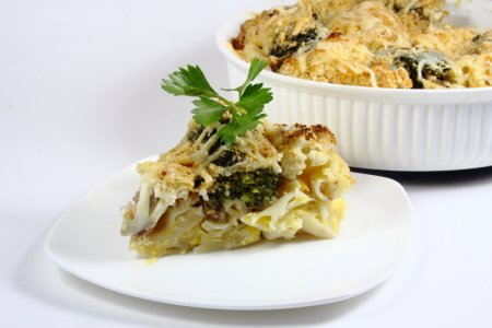 Рецепт Запеканка из макарон и брокколи