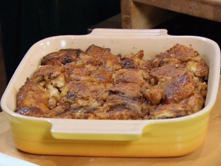 Рецепт Пудинг из хлеба в шоколаде